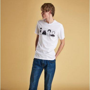 Josh.P Tee 3 조쉬 티셔츠3 화이트(BAI1MTS0508WH11)