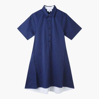 A라인 셔츠 드레스 (VW1J7WOP107E)