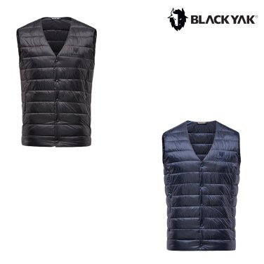 블랙야크 남성 겨울조끼 B브이넥볼패딩베스트-1_EAS