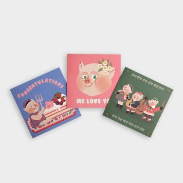 [세트상품] OINK Foling card SET