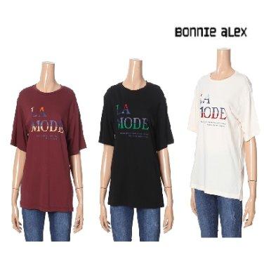 베이직 레터링 티셔츠(BCTC4087)