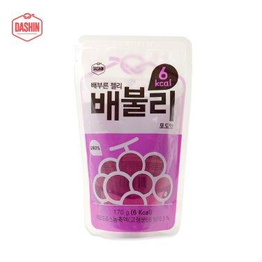 6kcal 배부른 젤리 배불리 포도 3박스 (170g*30팩) / 무료배송