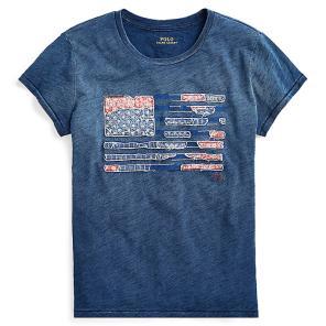 폴로 랄프 로렌 플래그 저지 티셔츠(WMPOKNINN810169B28)