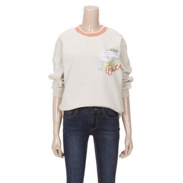 니트넥 프린트 티셔츠 (BATD4212)