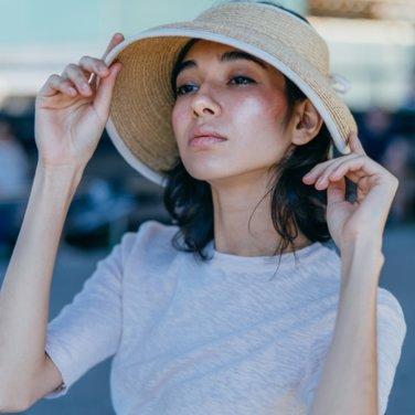 [릴레이ON] 화이트샌즈 19SS 뉴 니스로 라피아 썬캡 2종(2019WHSAND10E)