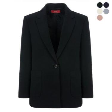 패치 포켓 원버튼 재킷 (TWWJKK52030)