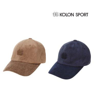 (코오롱스포츠) 남여공용 상록수 자수 BALL CAP (QEREW17023DBE,NAY)
