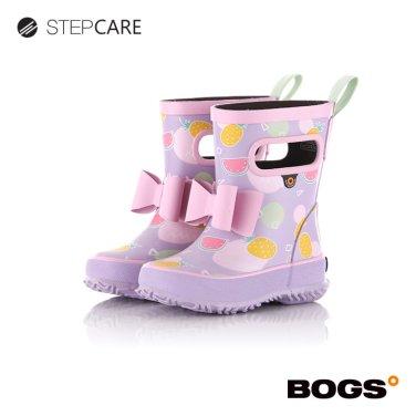 [보그스] 19SS 레인부츠 스키퍼-리본썸머바이올렛 유아동장화
