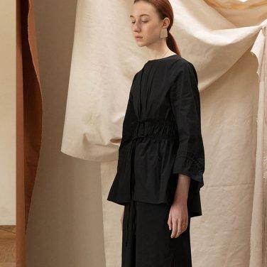 Linz Petit Gather Dress [Black] (JC19SSOP08_BK)ㅊ