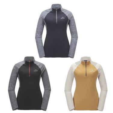 PATIL (파틸) 여성 짚업 티셔츠 / 등산티,긴팔티 (DWU17244)