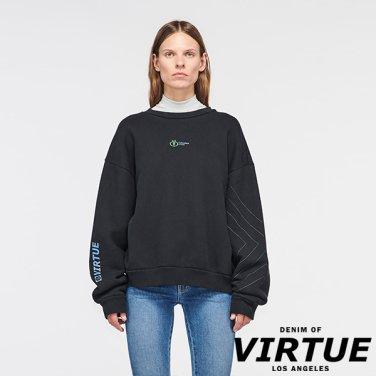 [미국] VENICE CREW NECK SWEATER OLD BLACK (VW93D5607TOBL)