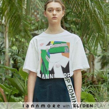 [아이앤모어] I ann more Cover Girl Printed T (Green) (annAIS-TS020)