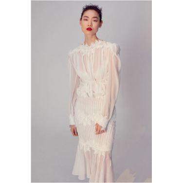 Flora lace skirt(FA19MSSK001)