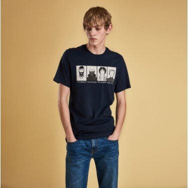 Josh.P Tee 3 조쉬 티셔츠3 네이비(BAI1MTS0508NY91)