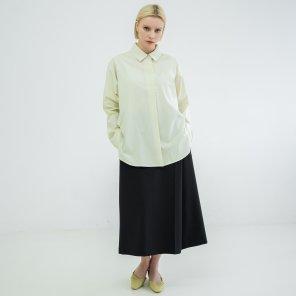 Hidden Button Shirts Cream(BSSH320_01)