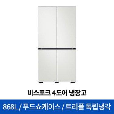 비스포크 4도어 냉장고 RF85R926201