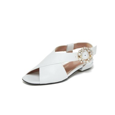 Jewelry sandal DG2AM19301WHT