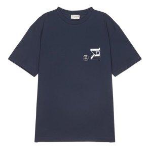 라움맨 [EDITIONS M.R] SIGMA EQUATION 로고 반팔 티셔츠-RATS0EEM4
