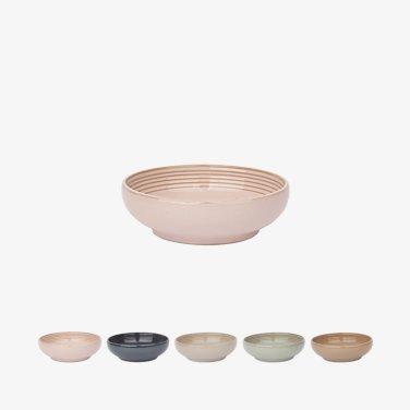 [윤도자기] 모던 한식 플레이팅 그릇 - 중찬기 (5컬러택1)