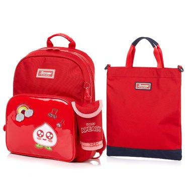 KAKAO 2 APEACH 백팩/보조가방 A SET RED