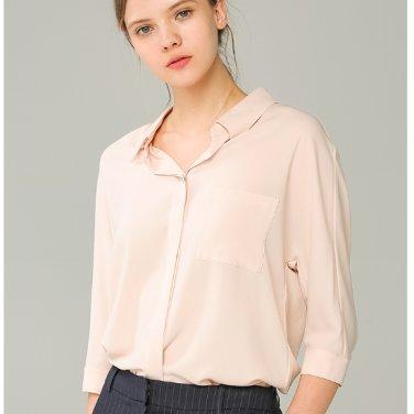 원포켓 솔리드 셔츠 TWWSTJ62030