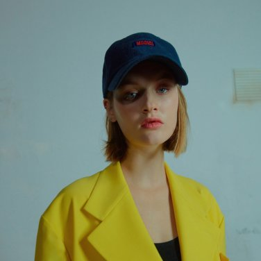 Mudidi basic ball cap 001 Navy