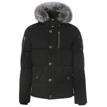무스너클 18F/W 남성 쓰리쿼터 재킷 MK2228M3Q 블랙