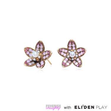 [피버리쉬앤너티][유투버착장] MAGNOLIA EARRINGS-GOLD (MG1E1)