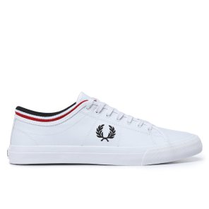 FRED PERRY  Kendrick Tipped Cuff Leather 공용 스니커즈 SFPU1936166-134
