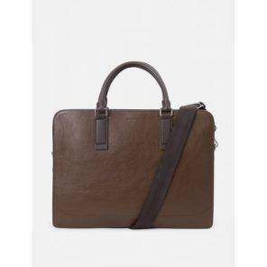 브라운 빈 슬림 서류가방 - Brown (BE99D2M01D)