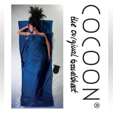 [COCOON] 코쿤 여행용 초경량 순면라이너 울트라 마린 블루 (CT80)