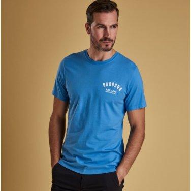 Preppy Tee 프레피 티셔츠 블루(BAI1MTS0502BL95)