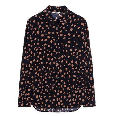원포켓 레오파드 셔츠 TWWSTJ70090