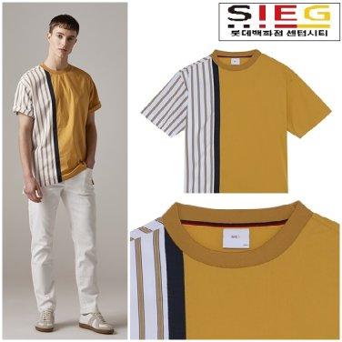 19 S/S 너무 이쁜 옐로우 반팔티셔츠 ct3661