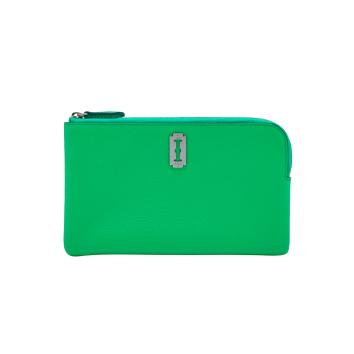 [vunque] Magpie Zipper Pouch (맥파이 지퍼 파우치) Apple green_VQB01WL2021