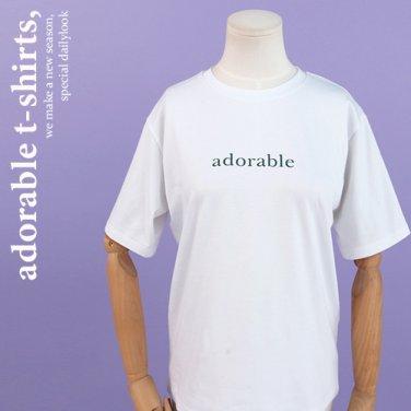 아도러블티셔츠2 (PAIS-DHTW092)