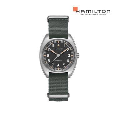 H76419931 카키 파일럿 파이오니어 메커니컬 나토 남성 시계 (W10 복각 워치)