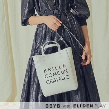 [박유나,허영지 착용] BBYB MARCE Tote Bag (Titanium White) (09I3210B1H)