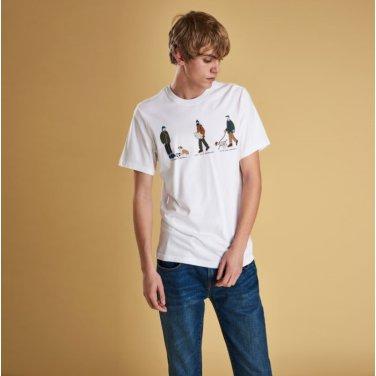 Josh.P Tee 2 조쉬 티셔츠2 화이트(BAI1MTS0507WH11)