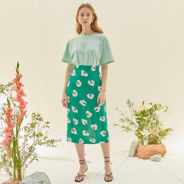 M Slit Long Skirt_GR