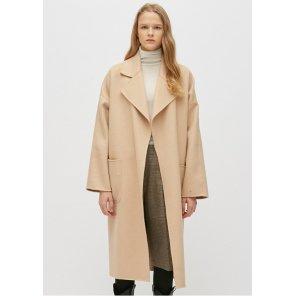 여성 LONG  LOOSE HAND MADE COAT (PWON4CTL75W)