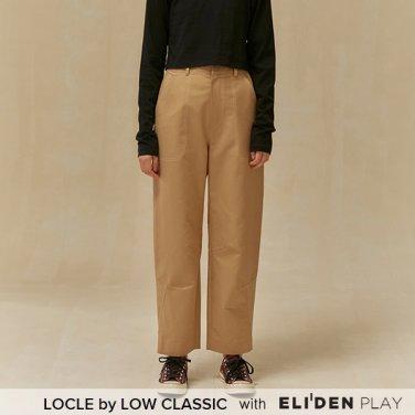 [로우클래식] 19 FALL LOCLE Cutting line pants_beige (Z3LCI6PT101)