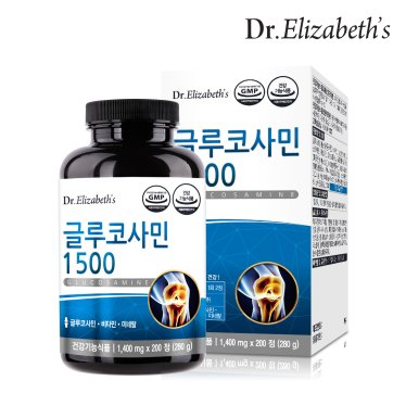 닥터엘리자베스 글루코사민 1500 (1,400 mg x 200정)
