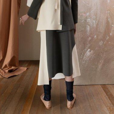 Le Havre Color Block Skirt (JC19SSSK04)
