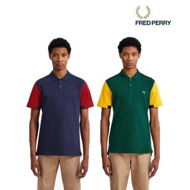 [S/S상품]볼드 커프 인서트 피케 셔츠 2종 AFPM1915576