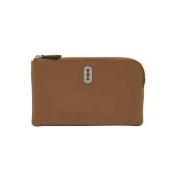 [vunque] Magpie Zipper Pouch (맥파이 지퍼 파우치) Camel_VQB01WL2031