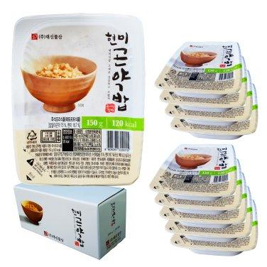 밥맛은 그대로 한끼 120kca 현미 곤약밥(150g*10팩) / 무료배송