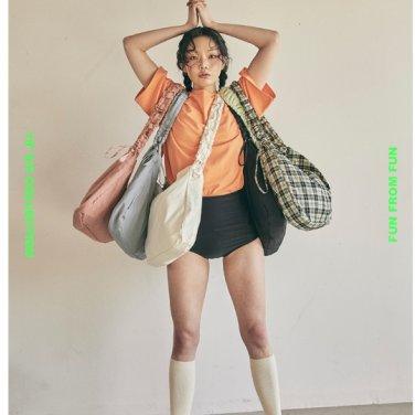 [펀프롬펀] Shirring Hobo bag 6colors (FF22E)