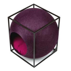 미유파리 더 큐브 메탈 플럼