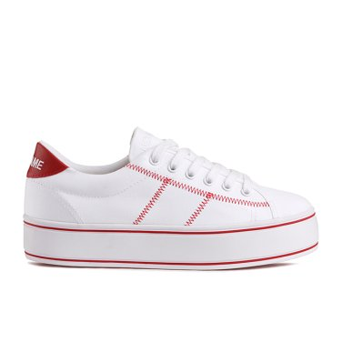 NO NAME Master Sneaker(004)  SNNF191OD04-004 여성용 캔버스 플랫폼 스니커즈